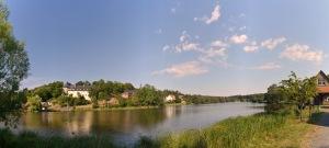 Der See in Stiege (Oberharz)